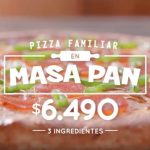 Pizza familiar Masa Pan de Pizza Hut: llévala de 3 ingredientes por solo $6.490