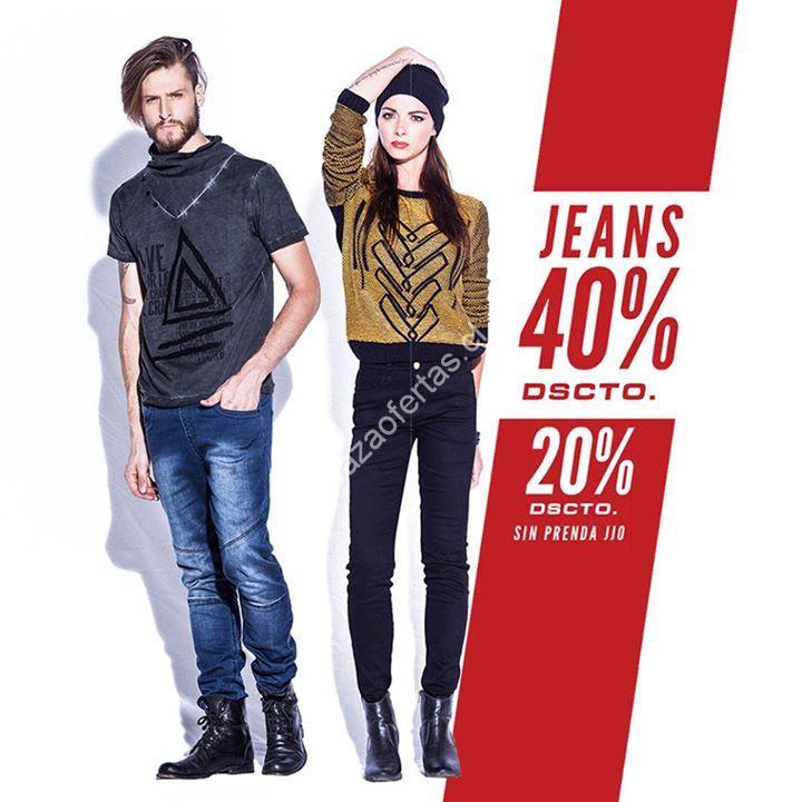 4ef9d4c0cd658 JJO jeans tiene en oferta los jeans con un 40% de descuento a las personas  que vayan vestidas con un jeans de la marca