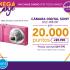 Por 20.000 puntos Cencosud + $9.990 te puedes llevatr una camara digital sony (valida por lunes y martes)