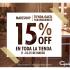 Visita el Mall Panoramico y pasa por Gacel tiene un 15% en toda la tienda