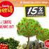 Santa Feria de Santa Isabel hoy miercoles todas las frutas y verduras con un 15% de descuento