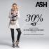 Ash con un 30% de descuento pagando con tarjeta Santander, especial Mamá