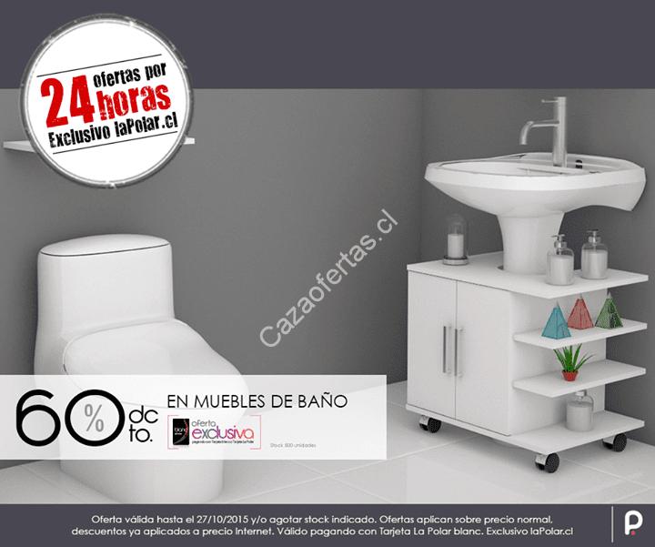 horas de ofertas en lapolarcl 60% de descuento en muebles de baño