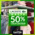 Lacoste con un 50% de descuento en Easton Outlet Mall