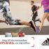 Hoy viernes 20 de noviembre, obten un 20% de descuento en la compra de zapatillas adidas con tu tarjeta santander