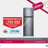 Ofertas Lg Days en Lider, Refrigerador no frost a $299.990