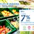 Lunes de descuentos en supermercados con un 7% de descuento con tus tarjetas BBVA