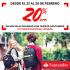 Promocion head y santander obten un 20% de descuento en la compra de tu mochila usando tarjeta santander