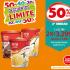 Descuentos Limites supermercado Santa Isabel  con un 50% de descuento en la 2da unidad de helados Bresler