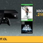 Oferta Relámpago:  Consola Xbox One 500GB + Quantum Break + Alan Wake a sólo $219.990