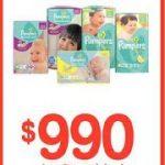 Promoción Farmacias Ahumada: $990 la tercera unidad de pañales Pampers