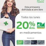 Promoción Farmacias Cruz Verde: 20 % de descuento al pagar con tarjeta CMR Falabella