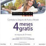 Promoción Seguros Ripley: contrata tu seguro de auto y recibe 4 meses gratis