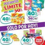 Descuentos al Límite Santa Isabel lunes 21 de noviembre: 40% de descuento en productos participantes
