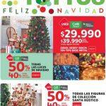 Promociones Tottus Navidad: 50% de descuento en luces de navidad, en figuras de Santa y más