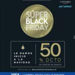 Promociones Costanera Center Black Friday 2016: Hasta 50% de descuento en marcas y 1 compra gratis cada 10 minutos