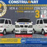 Sorteo Construmart Aniversario 2016: Gana uno de los 3 truck DFSK