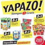 Yapazo Santa Isabel: 2×1 en productos sólo hoy jueves 3 de noviembre