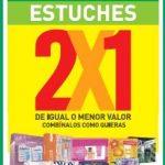 Liquidación de estuches en Farmacias Cruz Verde: 2×1 en estuches