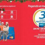 Promoción tarjeta Líder MasterCard: 3 cuotas sin interés a precio de contado en todo Chile