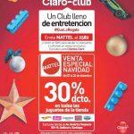 Venta Especial de Navidad Claro Club Mattel: 30% de descuento en juguetes