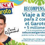 Promoción Se Busca al Garoto Santa Isabel: Gana viaje a Río, 5 millones y más en sebuscaalgaroto.cl