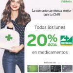 En Cruz Verde todos los lunes 20% de descuento en medicamentos al pagar con tarjetas CMR Falabella