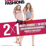 Promo Liquida Fashions en Fashion's Park: 2×1 en mujer, hombre e infantil en miles de productos