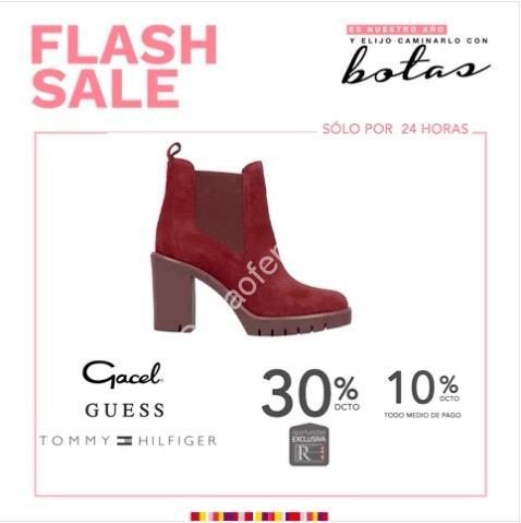 0b2892528515b Flash Sale Ripley lunes 10 de abril  hasta 30% de descuento en zapatos
