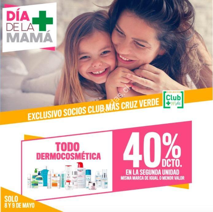 Promoción Cruz Verde Día de la Mamá: 40% de descuento en