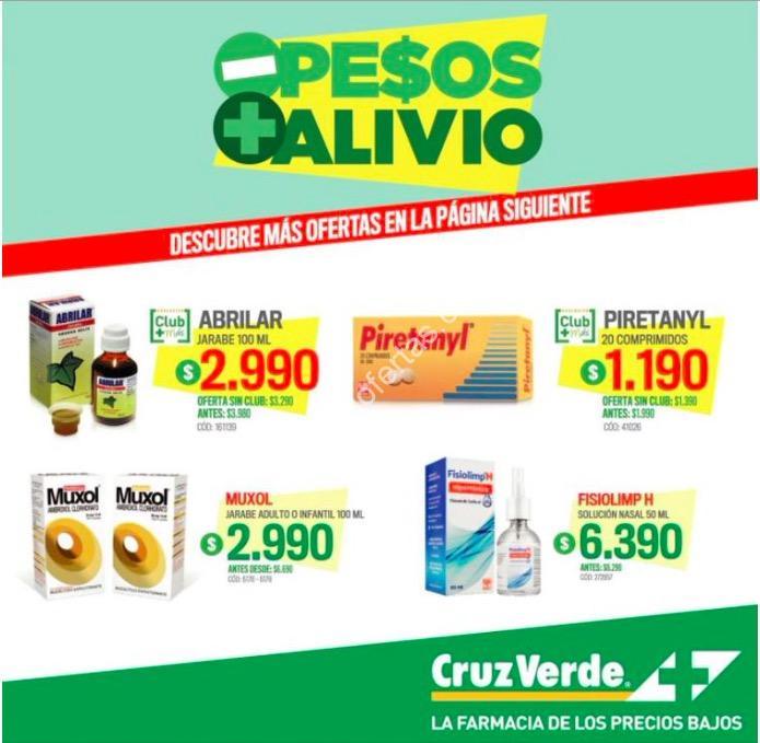 Ofertas Farmacias Cruz Verde del 15 al 28 de mayo de 2017