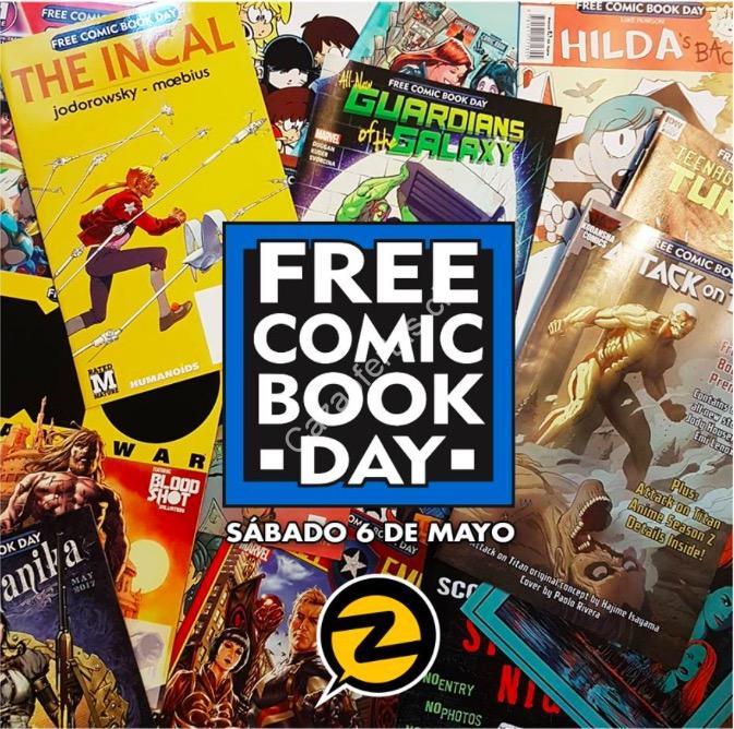 Free Comic Book Day Parramatta: Free Comic Book Day 2017. Cómics GRATIS Este Sábado 6 De