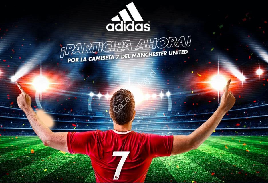 7cce24b71 Concurso Ripley Adidas  Gana la camiseta del Manchester United con el  número de Alexis Sánchez