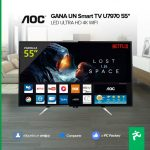 Imagen de la promo: Concurso PC Factory: Gana un Smart TV AOC 55