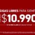 Nuevo plan Claro gigas libre para siempre por $10.990 mensuales