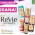 Gana 1 de 2 sets de productos Revie en el sorteo de Perfumerías Maicao