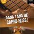Concurso Sahne Nuss: Gana 1 de 14 premios de 1 año de chocolate gratis