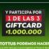 Concurso Tottus Cyber Monday 2021: Regístrate en tottus.cl y gana 1 de 3 giftcard de $1.000.000