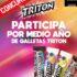 Concurso La Vida como una Triton: Gana 1 de 3 premios de medio año de galletas Triton