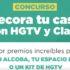Concurso HGTV Decora tu Casa: Gana renovaciones de dormitorio, living y más en hgtvdecoratucasa.com