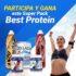 Concurso Supletech: Gana un pack Best Protein